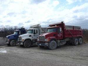 concrete hauling trucking services