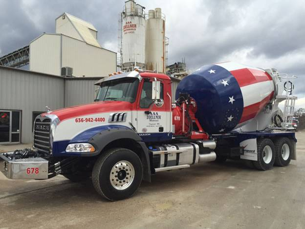 Ready Mix Concrete - AAA Zoellner Materials Incorporated